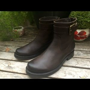 New FRYE Veronica Strap Short Boot Leather Booties